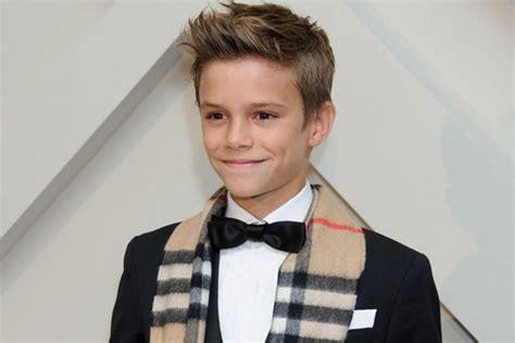 romeo beckham earnings 12 year old romeo beckham among world s highest earning