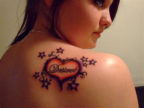 ladies heart tattoo designs tattoos and designs page 105