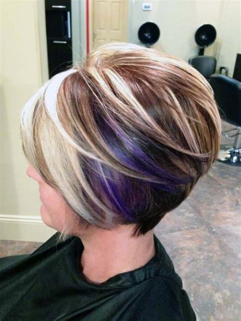 aline hair with color tips 17 aline bob hairstyles best 2016 and 2017 ellecrafts