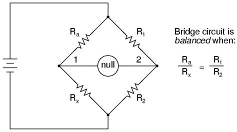 wheatstone bridge determine unknown resistance lessons in electric circuits volume i dc chapter 8