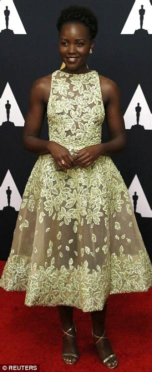 Pattern Lupita Dress pretty in pattern and williams wow in sparkling gowns for the eighth annual