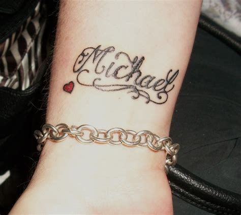 tattoo name michael other sons name michael tattoos pinterest other