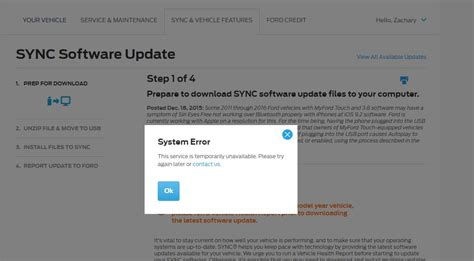 2013 ford sync update can t sync update ford f150 forum