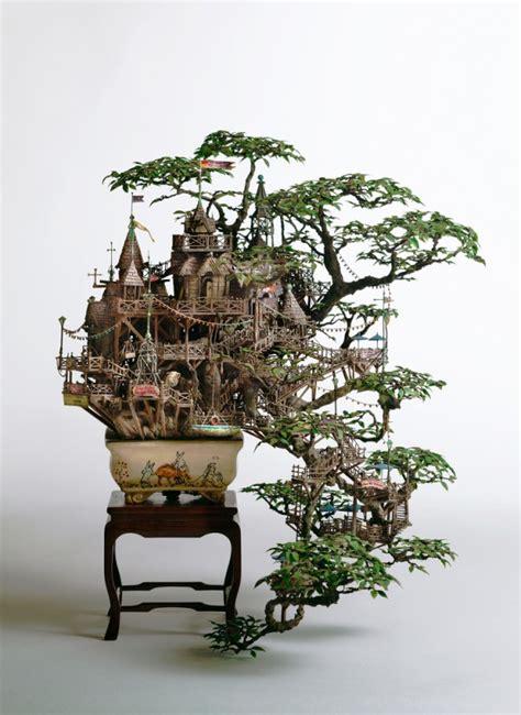 Coolest Chess Sets Bonsai Tree Houses By Takanori Aiba Colossal