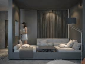 living spaces bedroom furniture living and sleeping areas exist in harmony in these comfortable studio spaces