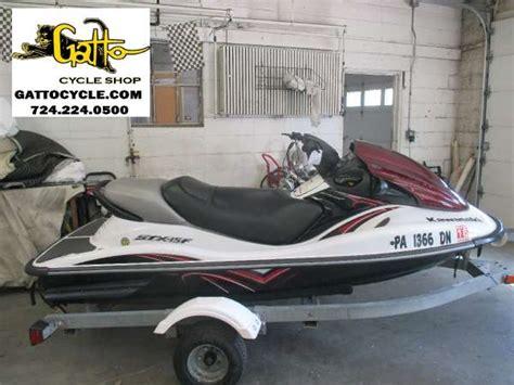 kawasaki jet ski boat sales kawasaki jet ski stx15f boats for sale in pennsylvania