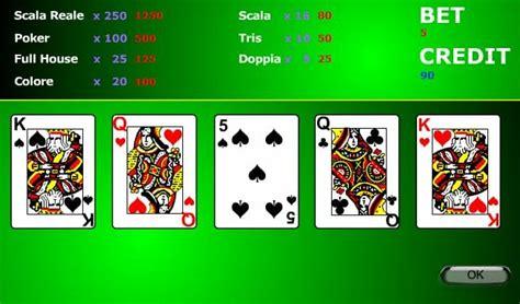 video poker gratis gioca  video poker  videopoker