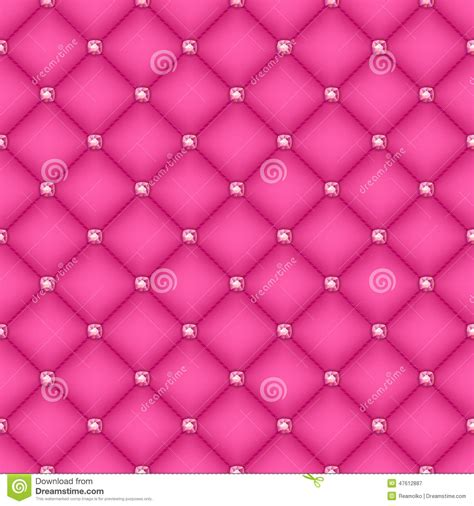 pink quilted wallpaper seamless pink quilted background with pins stock vector