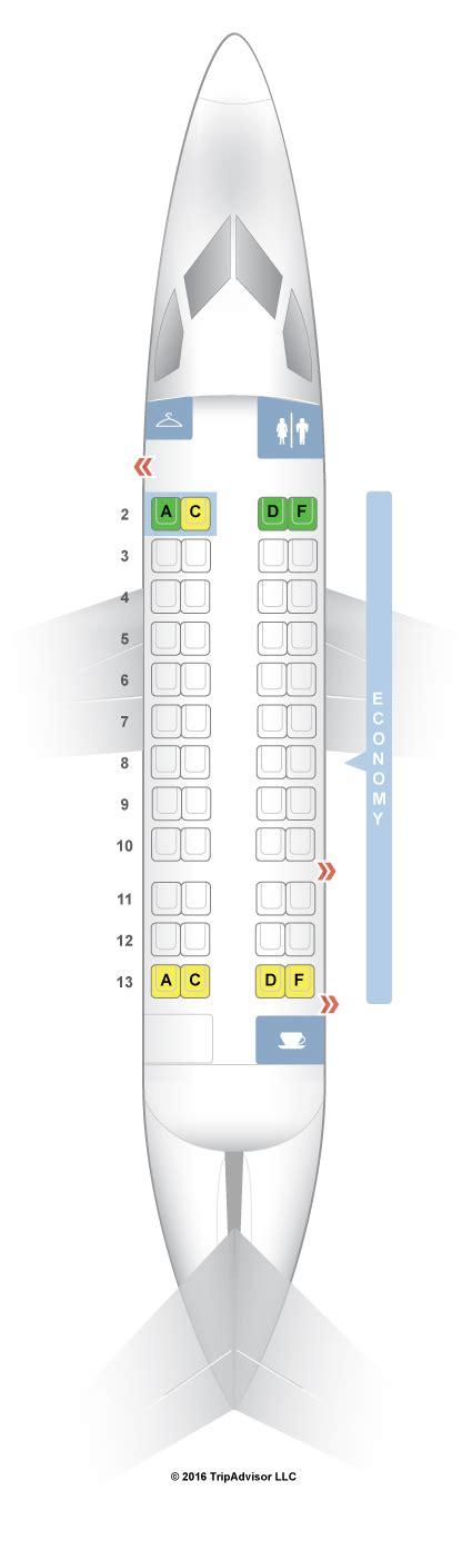 dash 8 400 seating seatguru seat map american airlines de havilland dash 8 dh3