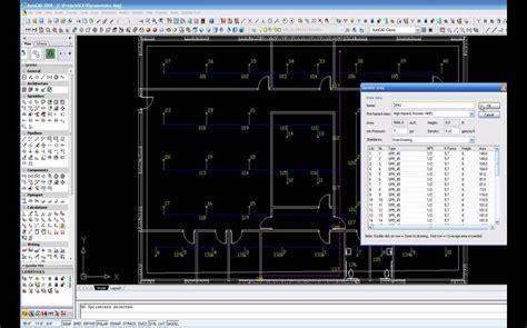 Floor Plan Designing by Designing The Fire Sprinkler System Youtube