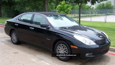tan lexus 2004 lexus es 330 sport design edition black with tan