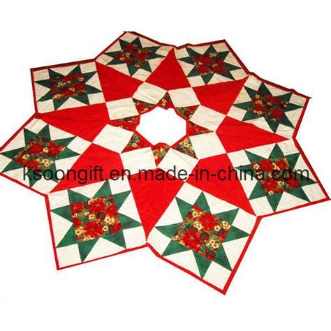 china christmas fabric tree skirt 1007007 china