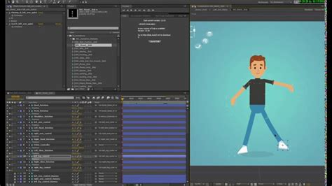 Rigged Characters For After Effects Template Videotutorial1 Youtube After Effects Character Rig Template