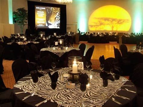 safari themed events party decoration ideas with african theme safari theme