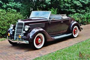1935 Ford For Sale Frame Restored 1935 Ford Roadster Convertible Best In