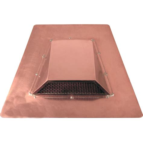 Dormer Vents Low Profile Roof Exhaust Vent Copperlab