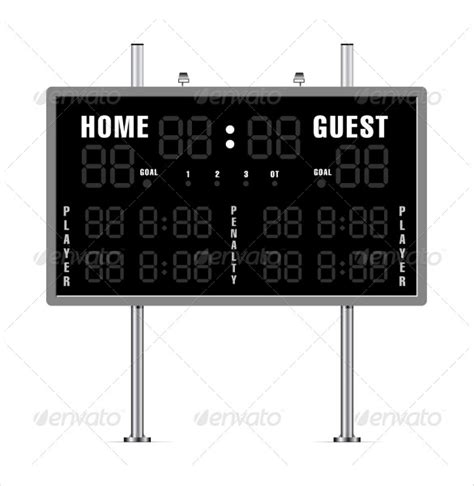 Scoreboard Template 10 Free Psd Pdf Eps Excel Documents Download Free Premium Templates Scoreboard Template For Powerpoint