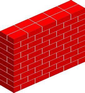 tall brick wall clip art  clkercom vector clip art