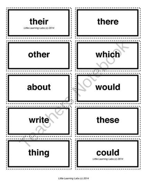 5 Letter Words Popular 5 letter vocabulary spelling sight words cards for prek