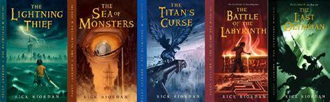 The Lightning Thief Cover 8th Percy Jackson Oleh Rick Riordan hendy s percy jackson series 1 5