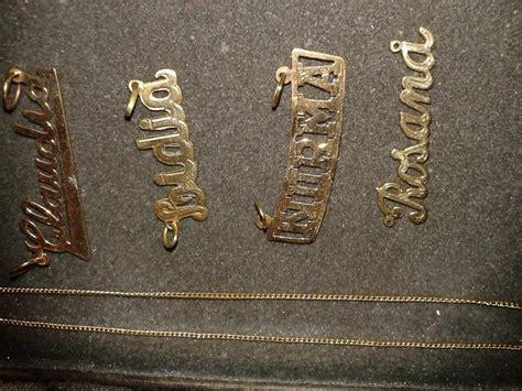 cadenas de oro limpiar cadena de oro con tu nombre joyas de plata