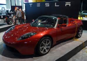 Electric Car Company Tesla Motors Gulf Nations Look To Tesla S Electric Roadster To Speed