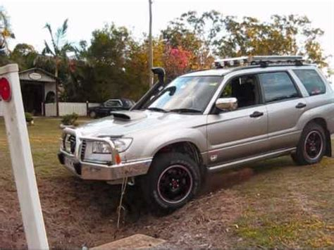 modified subaru forester road subaru forester set up for road driving test 1