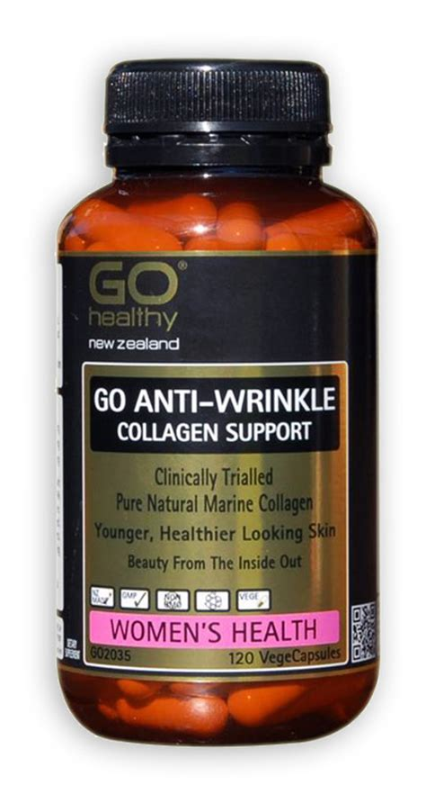 Natures Health Collagen Complex 60 Caps Antiaging Go Anti Wrinkle Collagen Support Capsules 120 Health