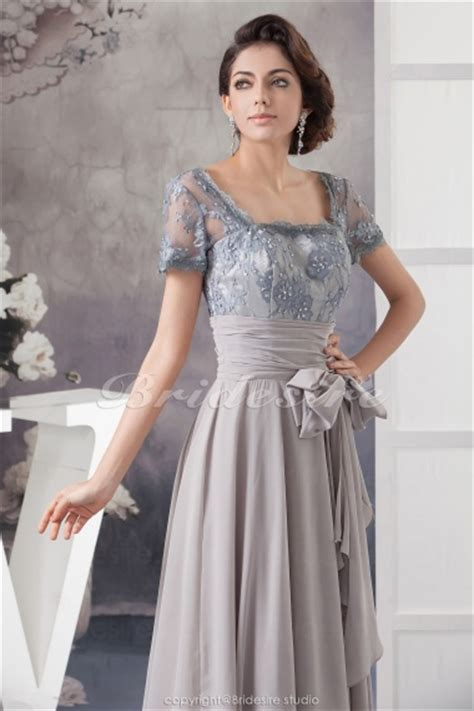 bridesire   square floor length short sleeve