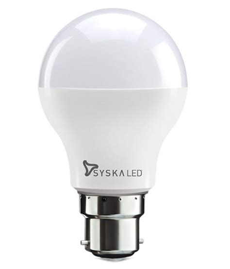 syska 5w single led bulb available at snapdeal for rs 250