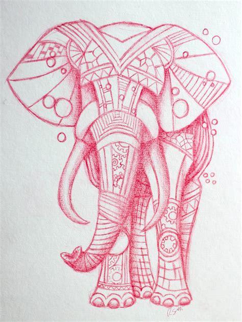 tattoo flash elephants steunk elephant tattoo design by lucky101212 on deviantart