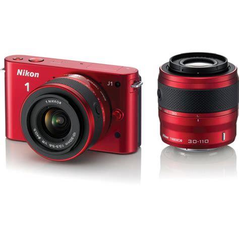 nikon 1 j1 mirrorless digital with 10 30mm 27553 b h