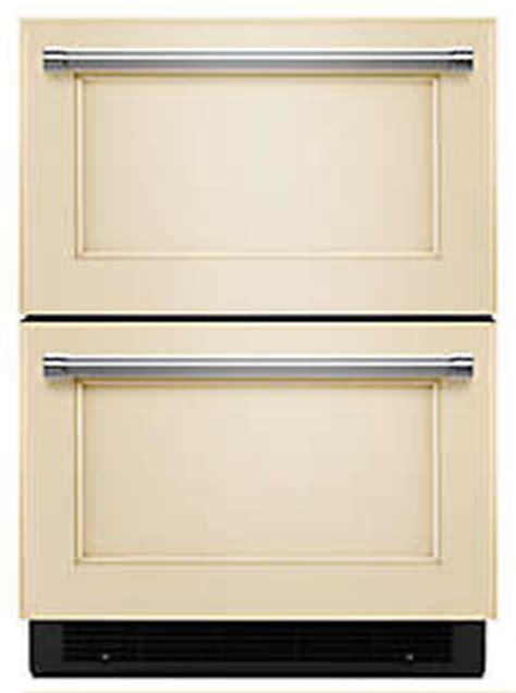 undercounter refrigerator drawers panel ready 23 quot panel ready double drawer refrigerator undercounter