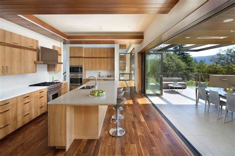 home wood kitchen design gable extension exterior farmhouse with rustic modern