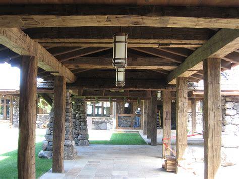 Barn Beam hewn barn beams arc wood timbers