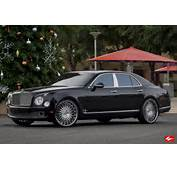 Bentley Mulsanne On 24 Inch Lexani Forged Wheels  Rides