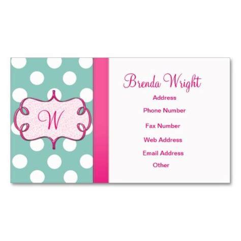 polka dot business card template 20 best polka dot business cards images on