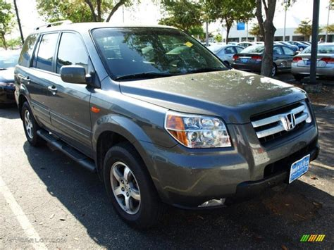 nimbus gray metallic honda pilot   gtcarlotcom car color galleries