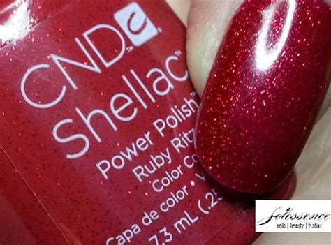 Nail Ritz by Cnd S Collection Ruby Ritz Cnd Swatches