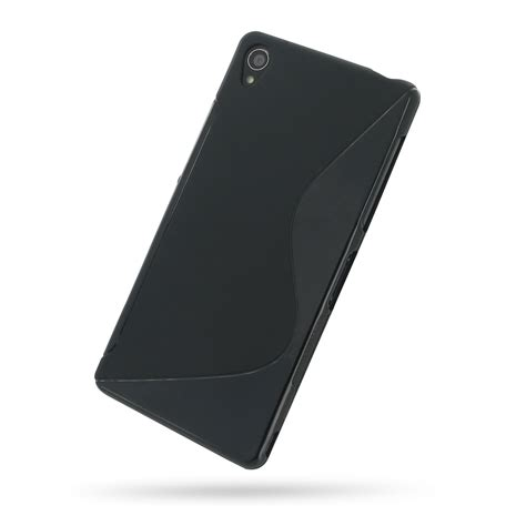Soft Xperia Z3 sony xperia z3 soft black s shape pattern pdair