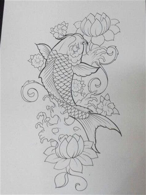 25 ide tato ikan koi indah di pinterest koi dan tato naga