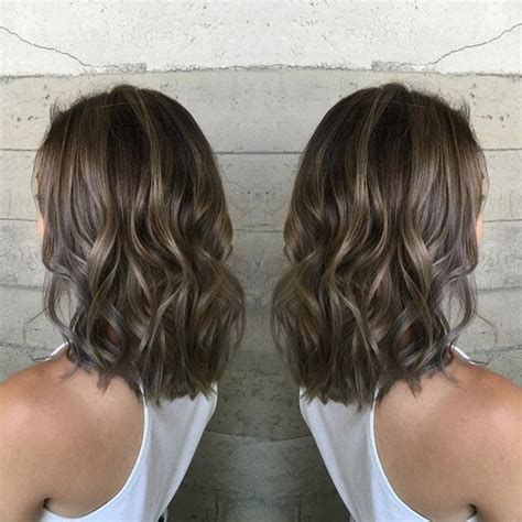 medium ash brown ombre hair color elle hairstyles 270 best images about ash brown hair extensions on