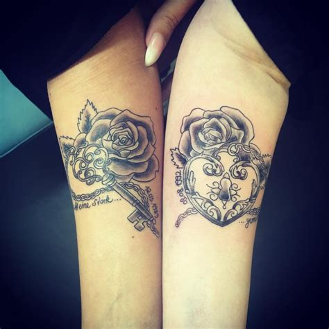 couple key tattoo collection of 25 lock and key couple tattoo design
