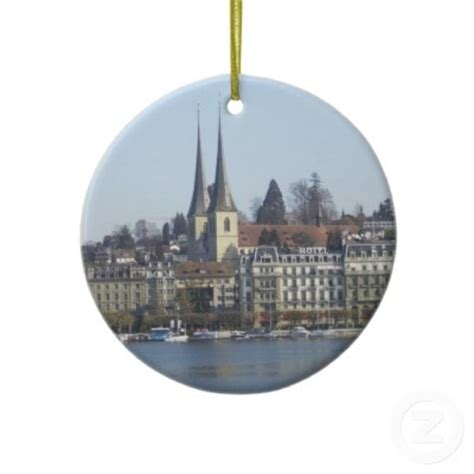lucerne switzerland christmas ornament get in my