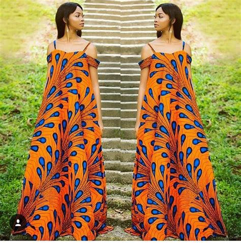 Simple Styles Of Ankara Gown