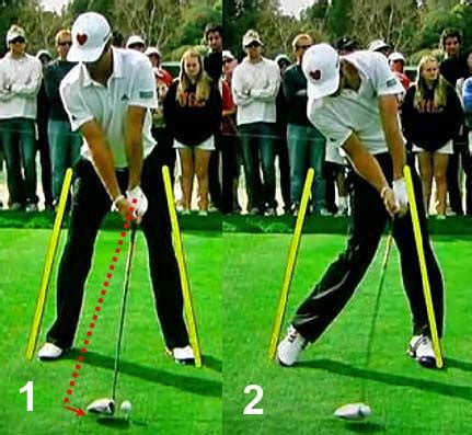 hand action in the golf swing what defines causes a drive hold release action newton