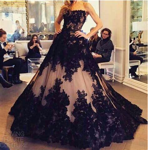 hochzeitskleid in schwarz vestidos para quincea 241 era en color negro ideas para