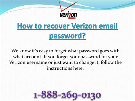 reset verizon email account password how to recover verizon email password