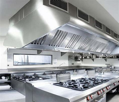 Commercial Kitchen Ventilation Design by Exhaust Hood System Design Quality Restaurant Equipment