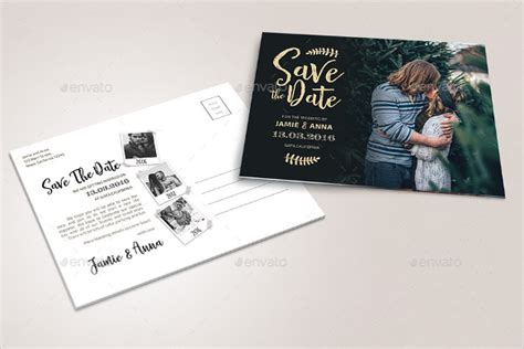 22 save the date postcard templates free sle